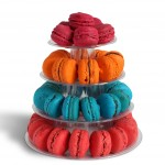 Mini French macaron display tower